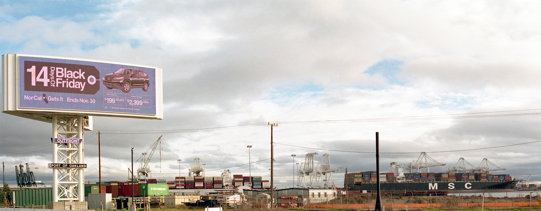 Port Of Oakland on Black Friday