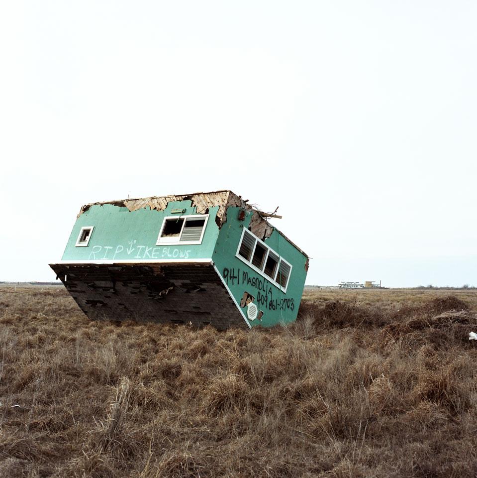Upturned House